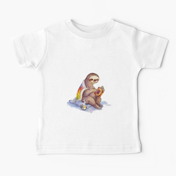 Perezoso acogedor Camiseta para bebés