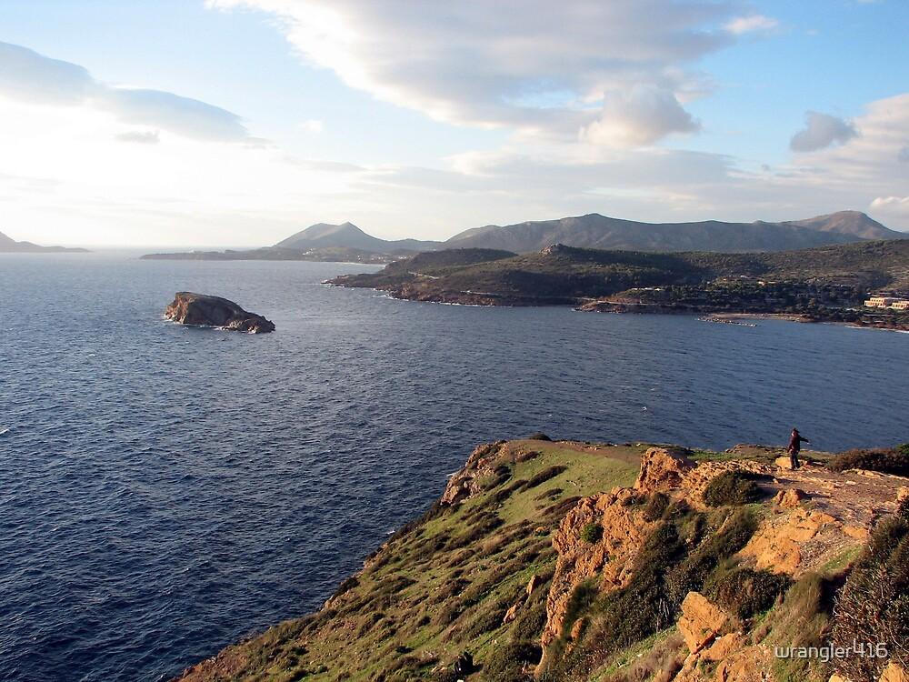 sounion gulf, greece by Kara Temple