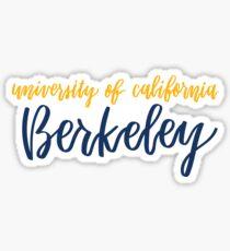UC Berkeley Sticker