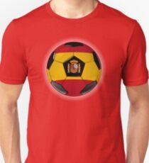 Spain - Spanish Flag - Football or Soccer Unisex T-Shirt
