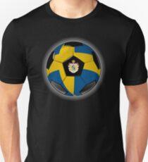 Sweden - Swedish Flag - Football or Soccer T-Shirt