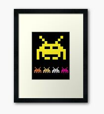 Space Invader Classic Game Framed Print