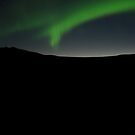 Aurora borealis by Christopher Barker