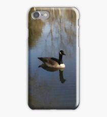 The Ice On The Pond Is Melting iPhone Case/Skin