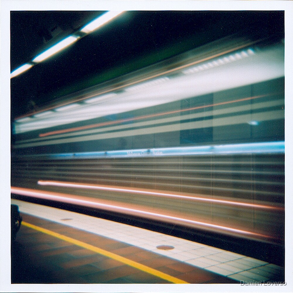 Slow Funky Train by Damien Loverso