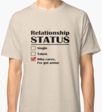 Relationship Status Anime Classic T-Shirt