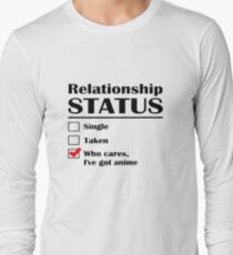 Relationship Status Anime T-Shirt