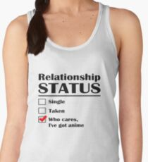 Relationship Status Anime Women's Tank Top