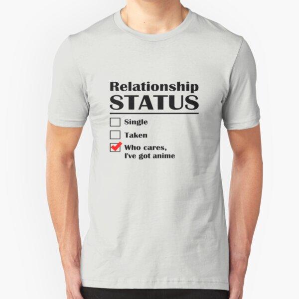 Relationship Status Anime Slim Fit T-Shirt