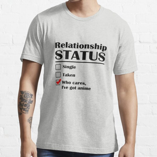 Statut de la relation Anime T-shirt essentiel