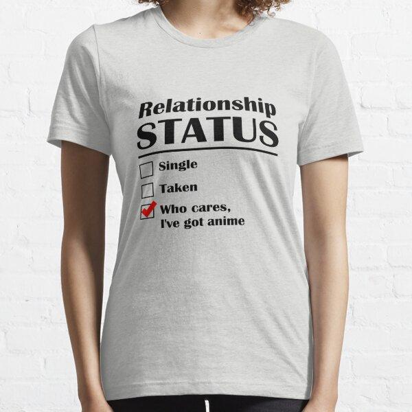 Statut de la relation Anime T-shirt essentiel