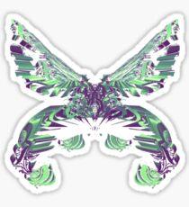 C4D butterfly Sticker