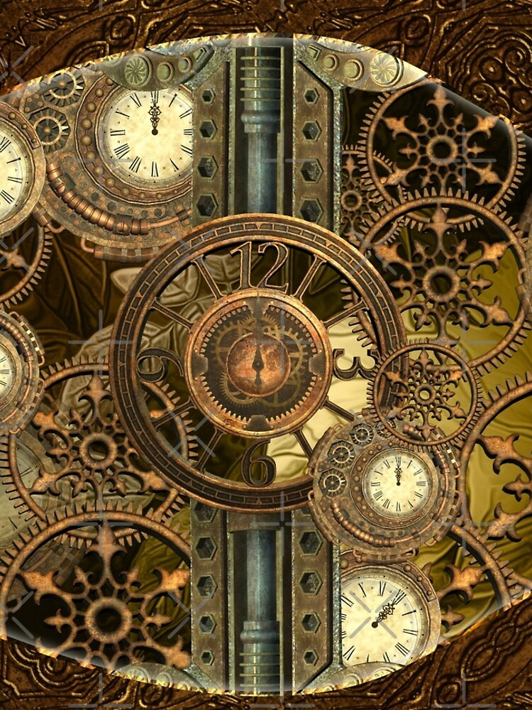Steampunk, awesome clocks by nicky2342