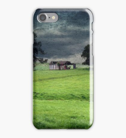 A stormy day in Dorrigo iPhone Case/Skin