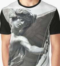 Detail of Eros Statue Graphic T-Shirt