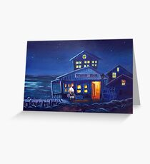 Monkey Island - Scumm Bar Greeting Card