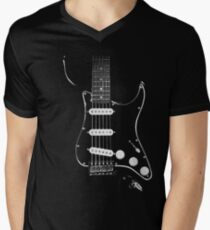 black glowstrings Men's V-Neck T-Shirt