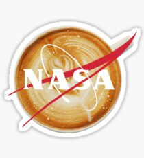 NASA Coffee Sticker