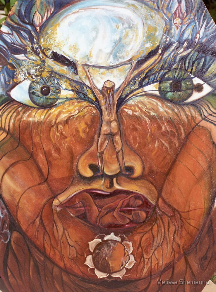 Genesis of the Womb by Melissa Shemanna