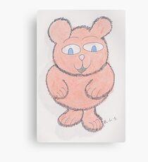Pinkie Fluff Canvas Print