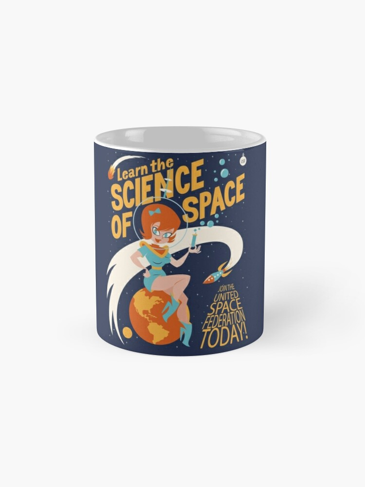 Alternate view of United Space Federation Mug