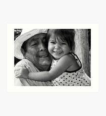 Multi-generational Love Art Print