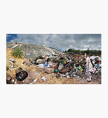 Her landfill Photographic Print