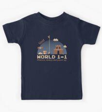 WORLD 1-1 Kids Tee