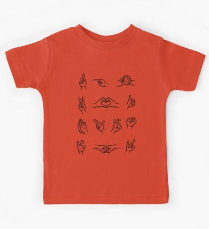Hand Signals Kids Clothes