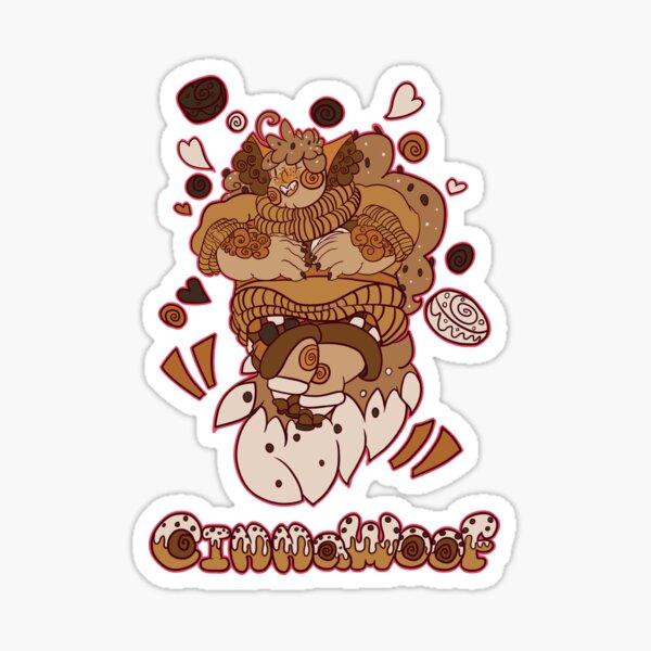 Cinnawoof Sticker