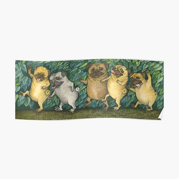 Where The Wild Pugs Are Poster