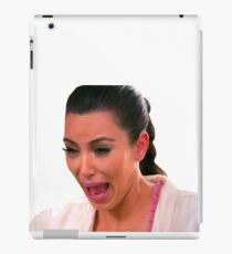 Crying Kim iPad Case/Skin