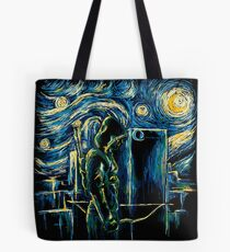 Starling Night (Arrow & Van Gogh) Tote Bag