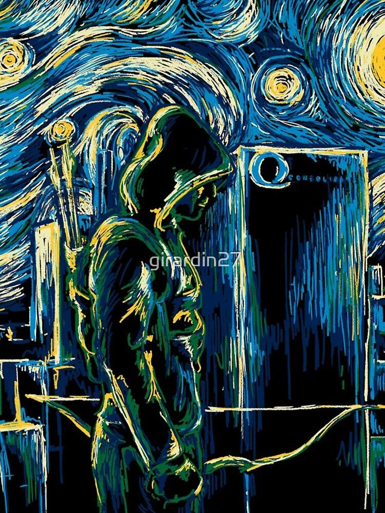 Starling Night (Arrow y Van Gogh) de girardin27