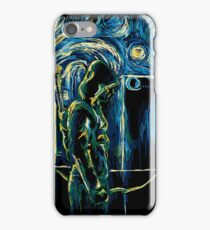 Starling Night (Arrow & Van Gogh) iPhone Case/Skin