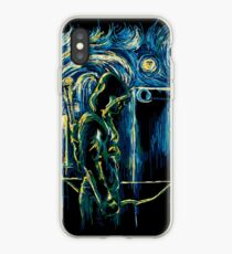 Starling Night (Arrow & Van Gogh) iPhone Case