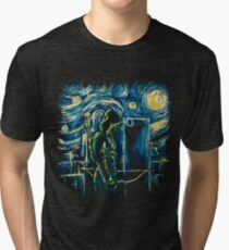 Starling Night (Arrow & Van Gogh) Tri-blend T-Shirt