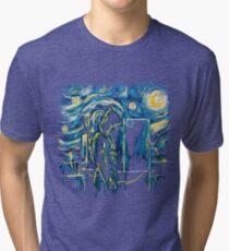 Starling Night (Arrow & Van Gogh) Tri-blend T-Shirt