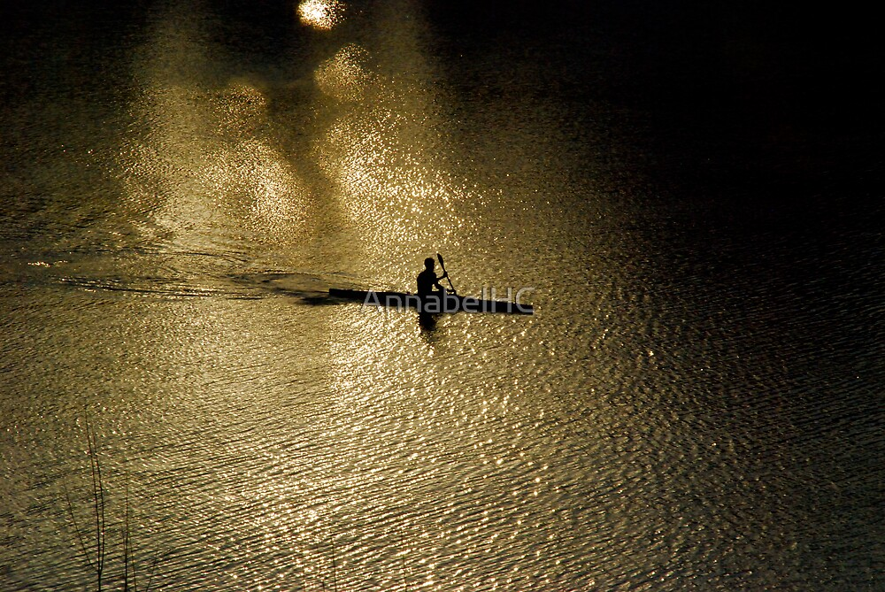 Paddling my own canoe... by AnnabelHC