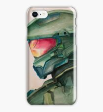 Master Chief Watercolor iPhone Case/Skin