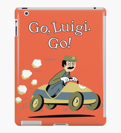 Go, Luigi. Go! iPad Case/Skin