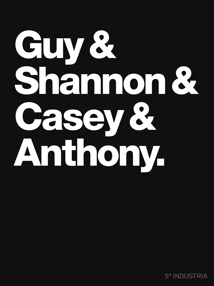 Guy & Shannon & Casey & Anthony. (Blk) by 5STAR