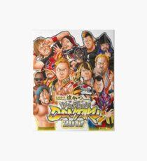 Wrestling Dontaku 2017 Art Board