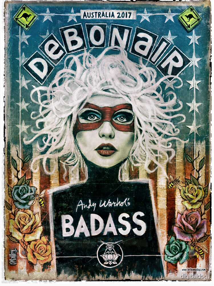 Debonair (Debbie Harry) Blondie by digitaldog
