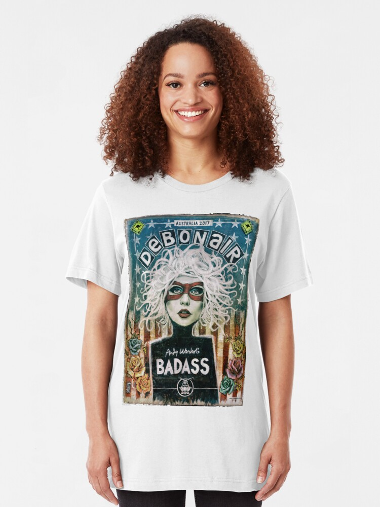 Alternate view of Debonair (Debbie Harry) Blondie Slim Fit T-Shirt