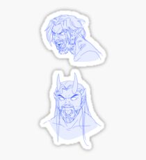 McHanzo Monster Growls Sticker