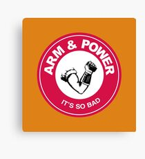 ARM & POWER Canvas Print