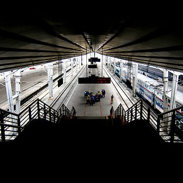 Beijing Train Station by ehor