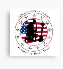 Never Forget 1.0 Canvas Print
