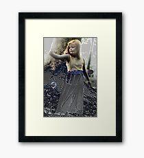 Reach - Victorian Era Photography Framed Print